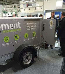 Froment Dynamometers exhibit at Agritechnica